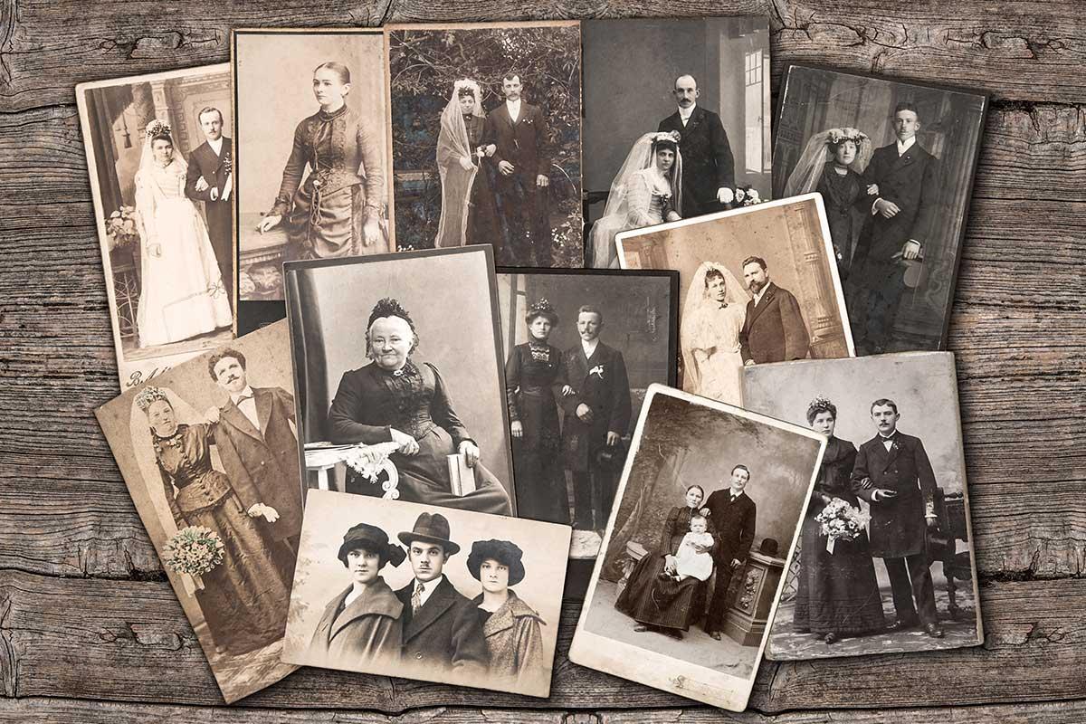 Photos de famille - Annie Wattier Généalogiste